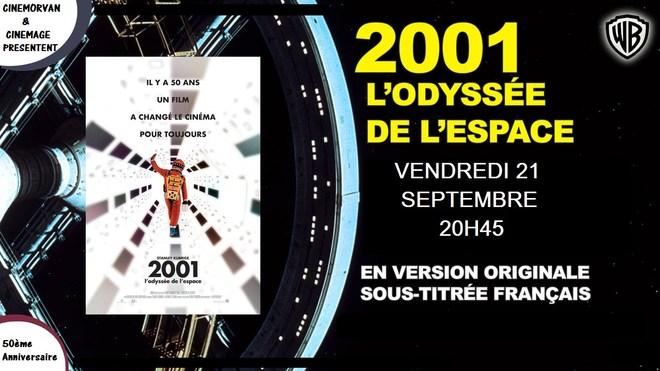 50ème Anniversaire 2001 l'odyssée de l'espace