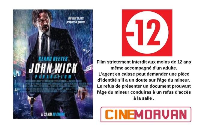 FILM INTERDIT AUX MOINS DE 12 ANS