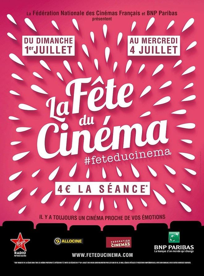 LA FÊTE DU CINEMA 2018
